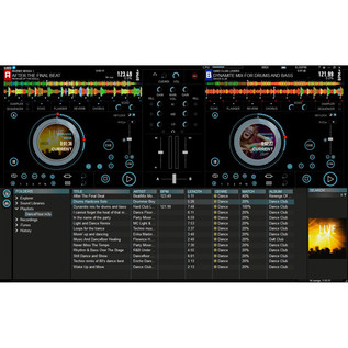 Hercules DJ Control Instinct S DJ Controller