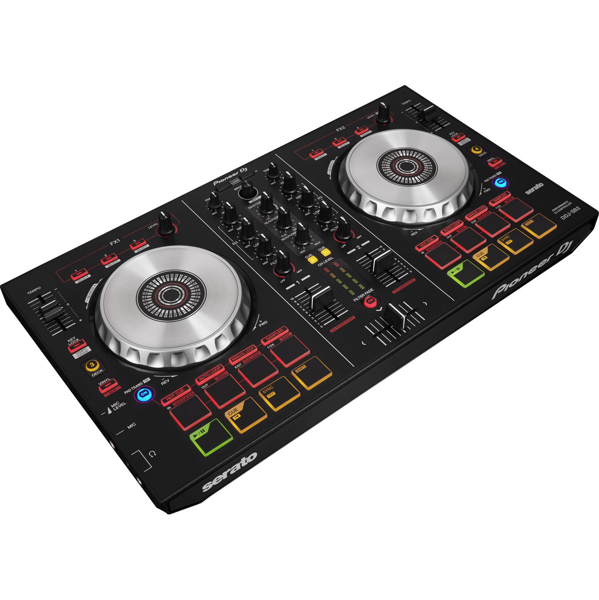 pioneer ddj sb2 professional dj controller at. Black Bedroom Furniture Sets. Home Design Ideas