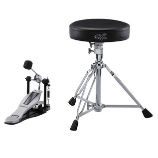 Roland DAP-3X Stool, Pedal & Sticks