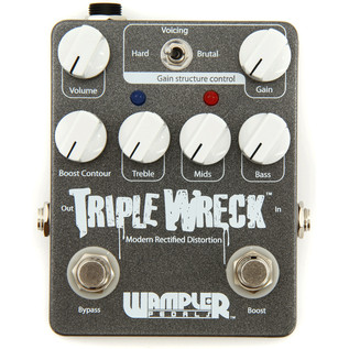 Wampler Triple Wreck Drive Pedal