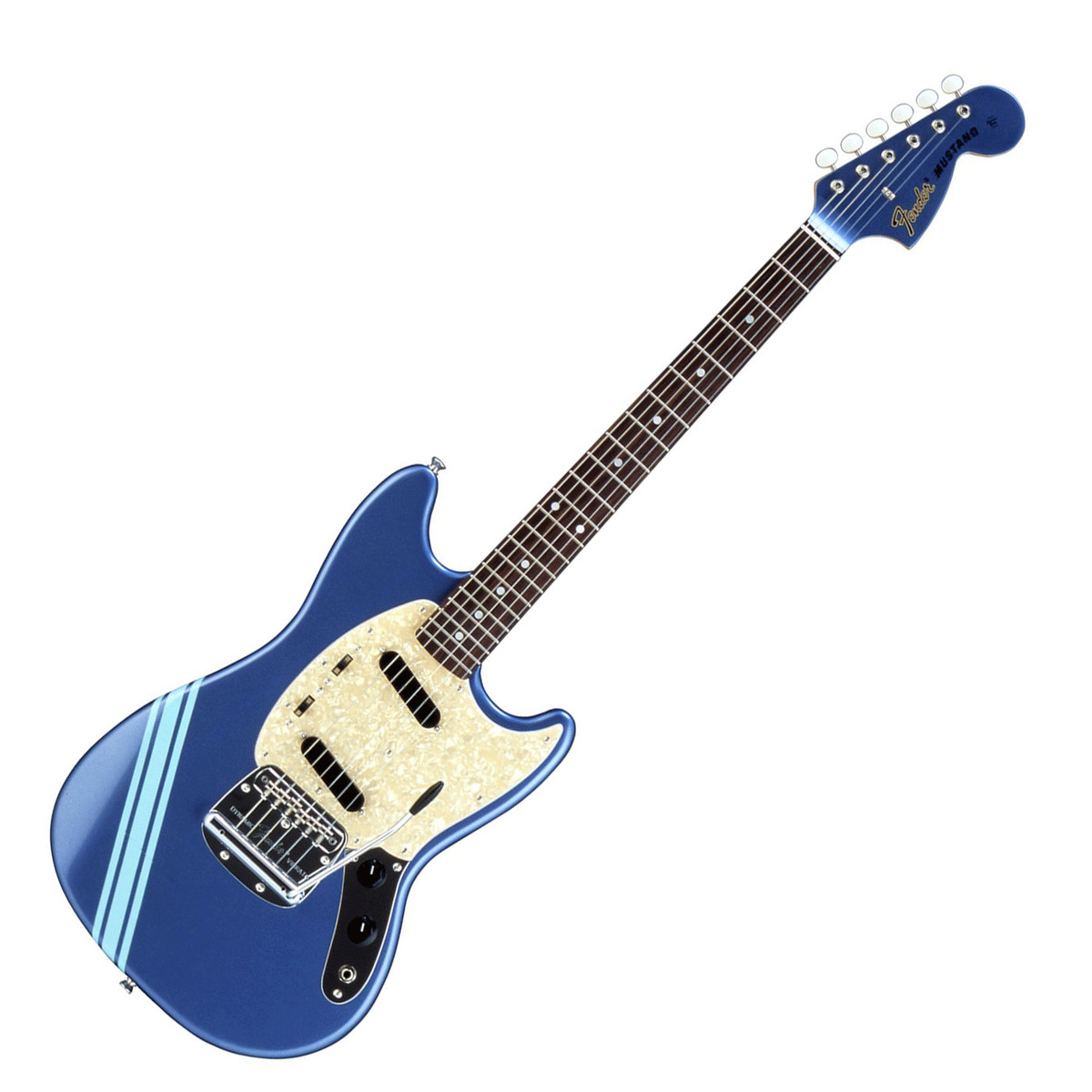 fender fsr competition mustang electric guitar lake placid blue at gear4music. Black Bedroom Furniture Sets. Home Design Ideas