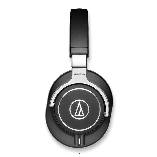 Audio Technica ATH-M70x Professional Monitoring Headphones, Side