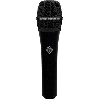 Telefunken M80 Dynamic Micrphone, Black Body with Black Head Grill