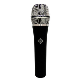 Telefunken M80 Dynamic Microphone, Black Body with Chrome Head Grill