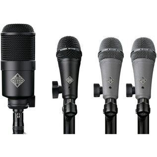 Telefunken DD4 4 Piece Dynamic Drum Microphone Pack