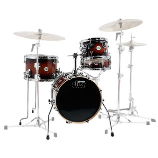 DW Design Series Mini Pro 16'' Maple Shell Pack, Tobacco Burst