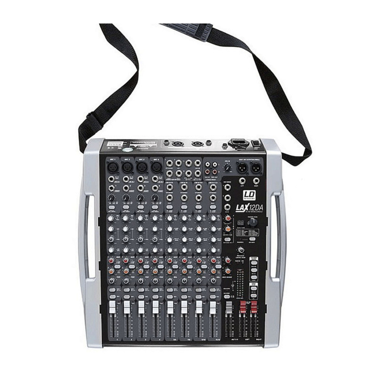 disc ld systems lax 12d powered 12 channel mixer with digital effects at gear4music. Black Bedroom Furniture Sets. Home Design Ideas