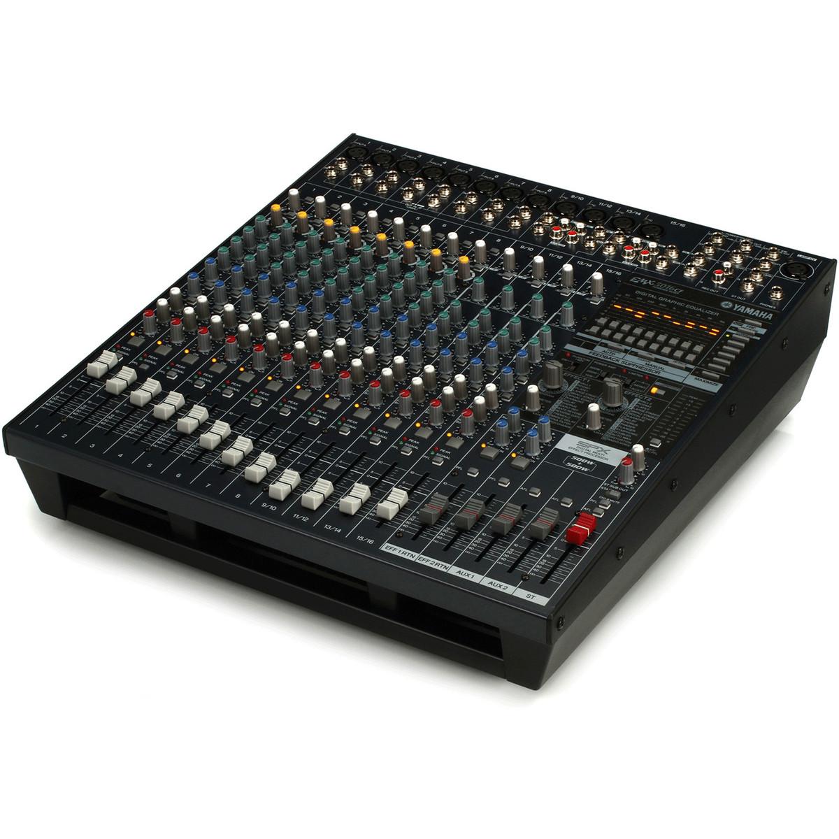 Yamaha emx5016cf table de mixage st r o amplifi e 500 w 500 w gear4music - Table de mixage amplifiee yamaha ...