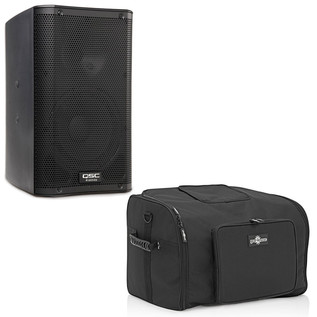 QSC K12 Active PA Speaker with Free Speaker Bag