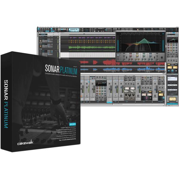 Cakewalk SONAR Platinum Music Production Software