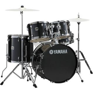 Yamaha Gigmaker 20'' Fusion Drum Kit, Black Glitter