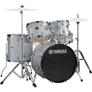 Yamaha Gigmaker 20'' Fusion Drum Kit, Silver Glitter