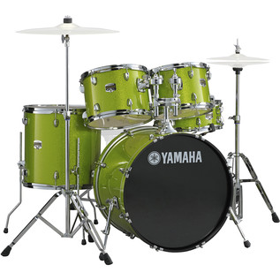 Yamaha Gigmaker 20'' Fusion Drum Kit, White Grape Glitter