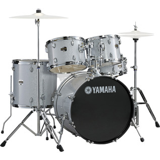 Yamaha Gigmaker 22'' Rock Drum Kit, Silver Glitter