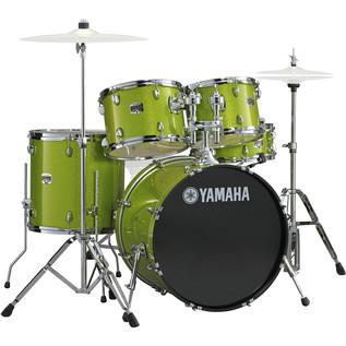 Yamaha Gigmaker 22'' Rock Drum Kit, White Grape Glitter