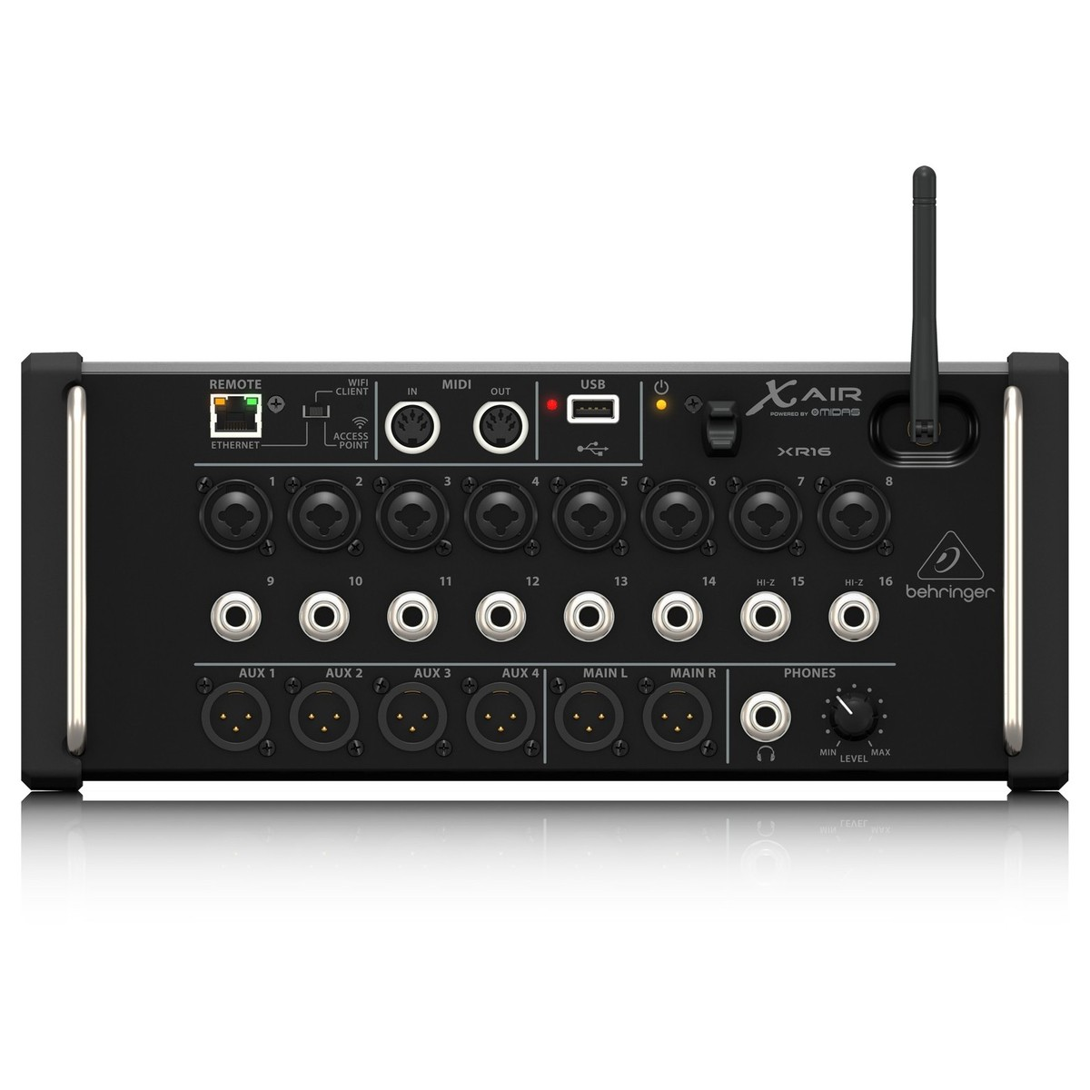 behringer x air xr16 16 channel digital mixer at gear4music. Black Bedroom Furniture Sets. Home Design Ideas