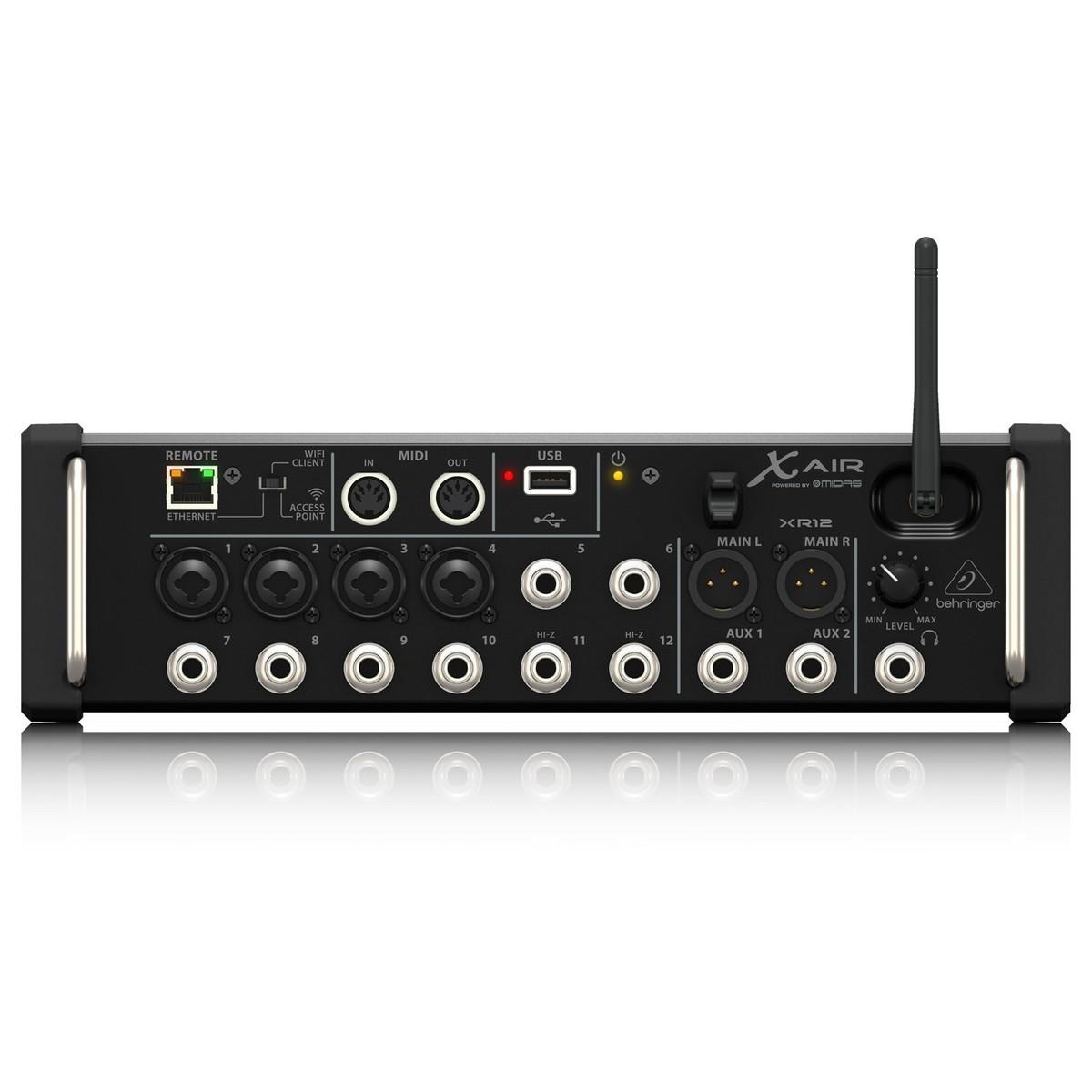 behringer x air xr12 12 channel digital mixer at gear4music. Black Bedroom Furniture Sets. Home Design Ideas