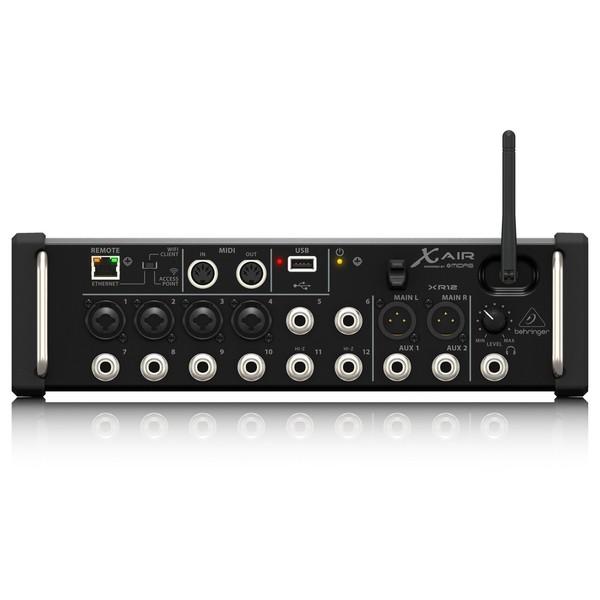 Behringer X AIR XR12 12-Channel Digital Mixer - Back