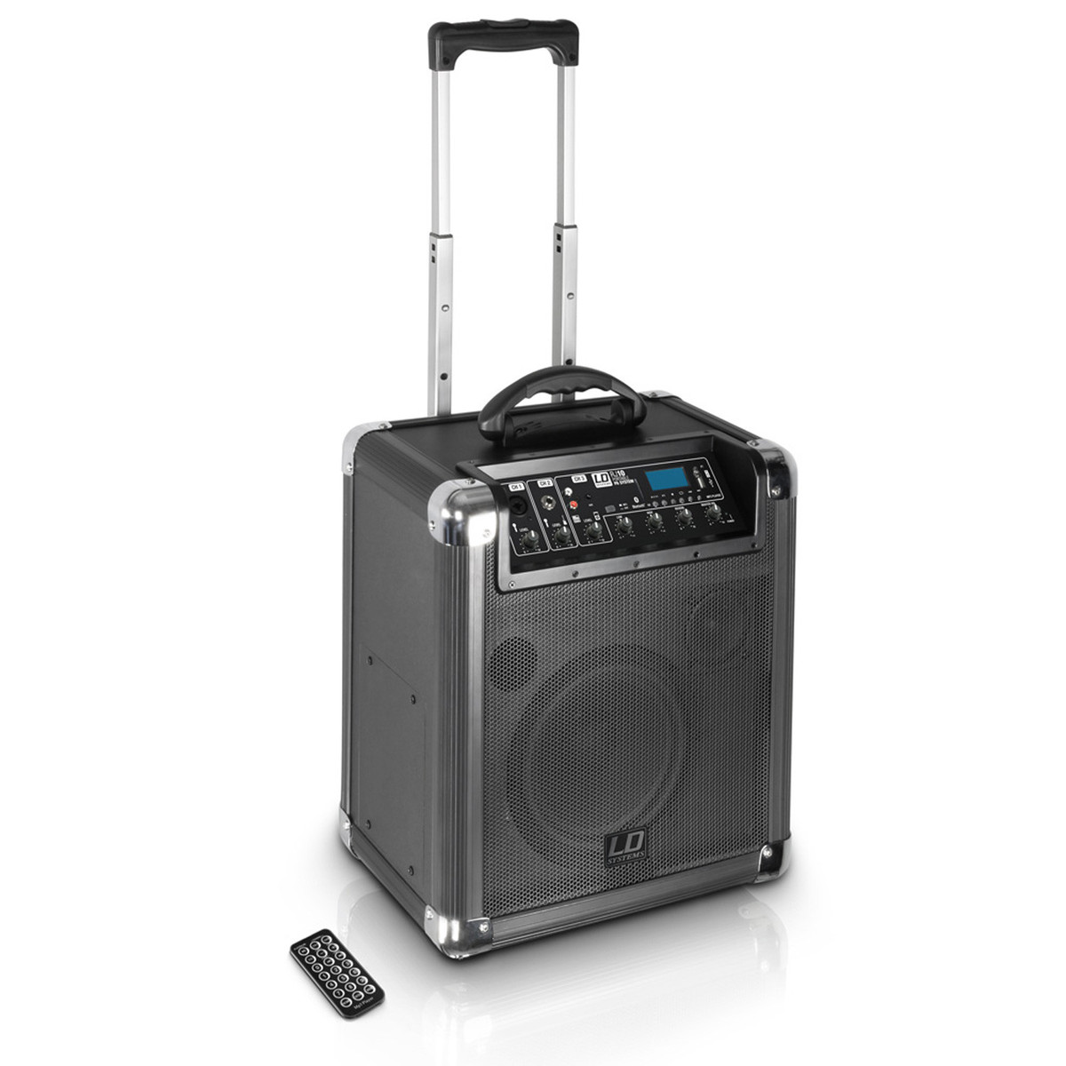ld systems roadjack 10 portable pa speaker with mixer nearly new at gear4music. Black Bedroom Furniture Sets. Home Design Ideas