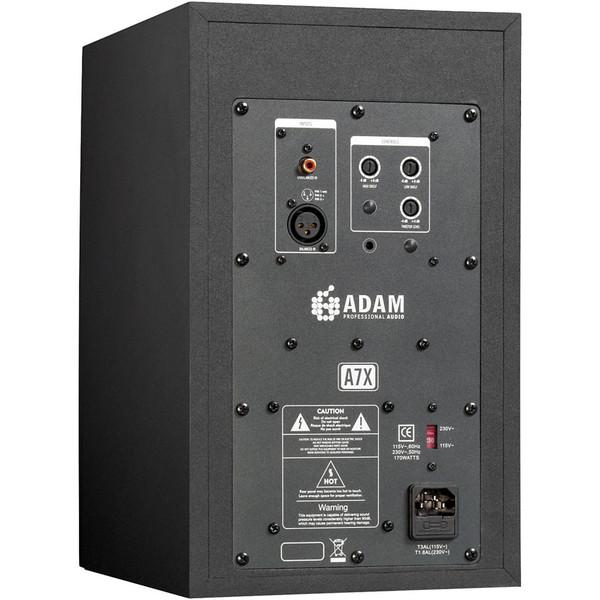 Adam A7X Active Studio Monitors, Back