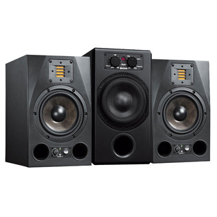 Adam A7X Active Studio Monitors, Pair with Sub 7 Subwoofer