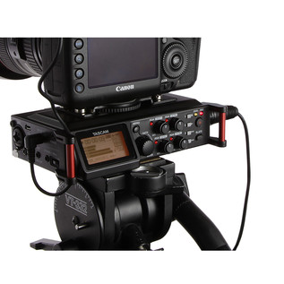 Tascam DR-70D Professional Recorder for DSLR