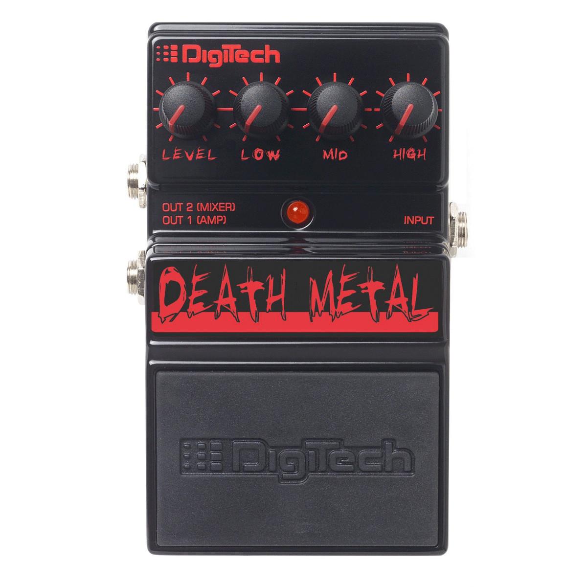 digitech ddm death metal distortion pedal at gear4music. Black Bedroom Furniture Sets. Home Design Ideas