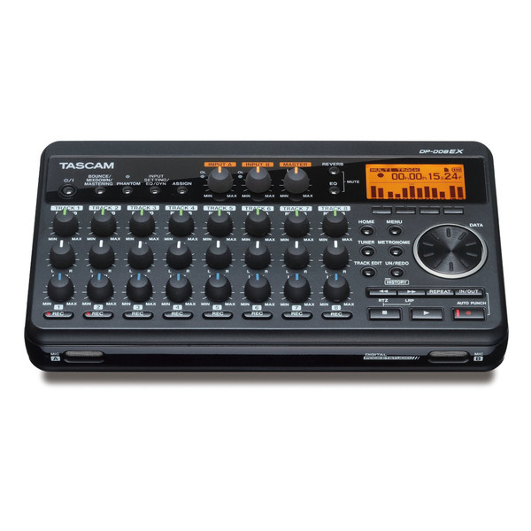 Tascam DP-008EX 8-Channel POCKETSTUDIO - Front View
