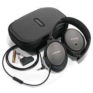 Bose QuietComfort 25 Acoustic Noise Cancelling Headphones, Black
