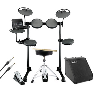 Yamaha DTX400K Electronic Drum With Amp, Cable, Stool and Sticks