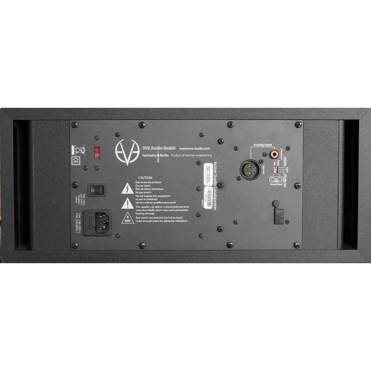 Eve Audio Sc305 5 3 Way Active Studio Monitor At Gear4musiccom Speaker Switch