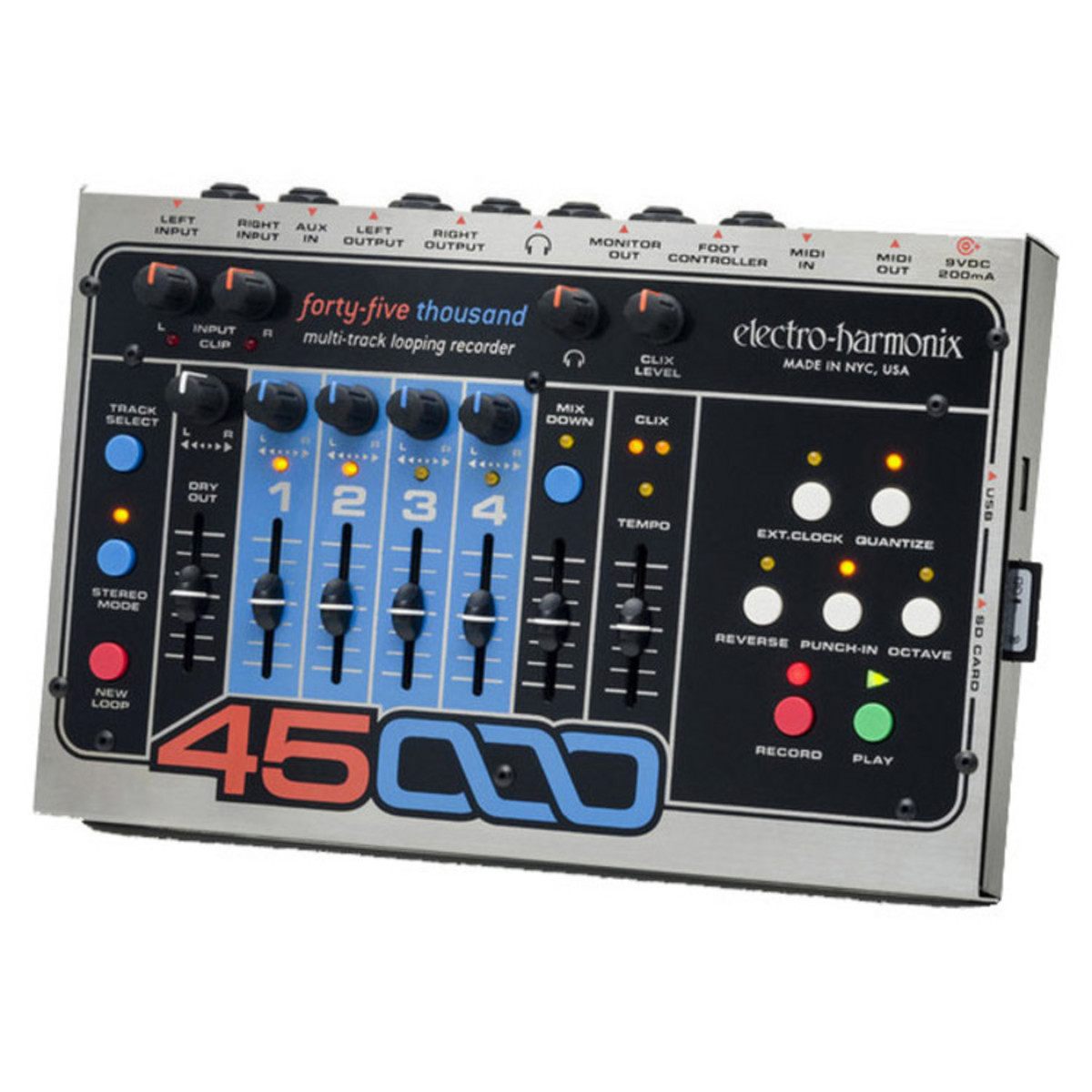 Click to view product details and reviews for Electro Harmonix 45000 Multi Track Looping Recorder Nearly New.
