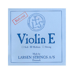 Larsen Medium Violin E String Ball End