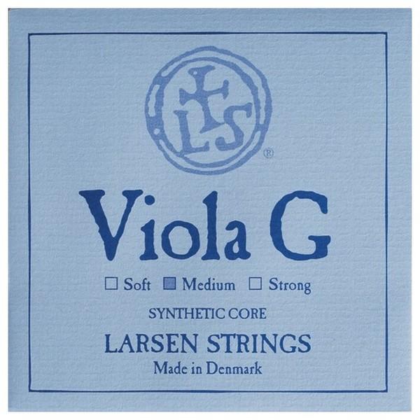 Larsen Medium Viola G String, Silver Wound