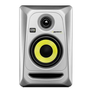 KRK Rokit RP4 G3 Studio Monitor, Silver