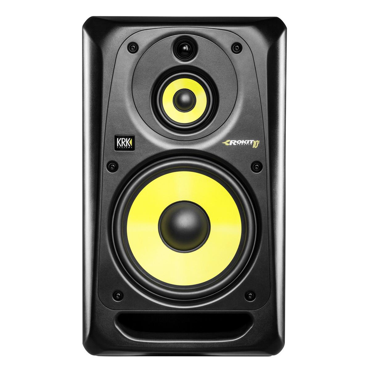 krk rokit rp10 3 g3 full range active studio monitor single at gear4music. Black Bedroom Furniture Sets. Home Design Ideas
