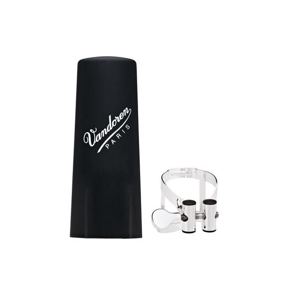 Vandoren M/O Alto Clarinet Ligature - Silver Plate