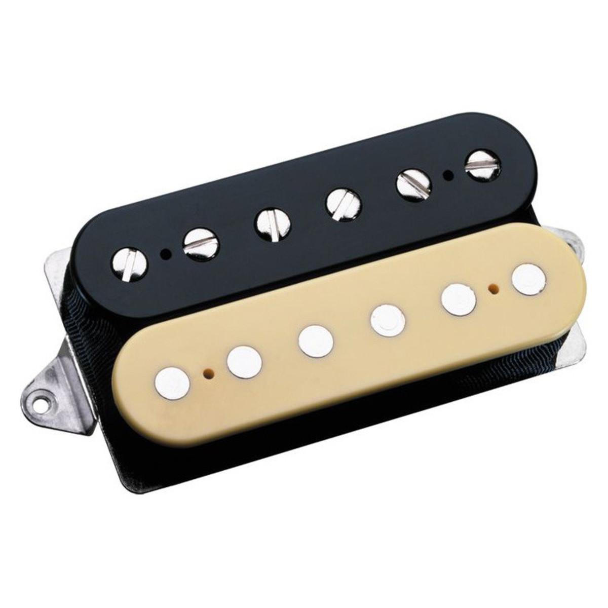 Schema Collegamento Humbucker Di Marzio : Dimarzio dp155 the tone zone humbucker guitar pickup black cream