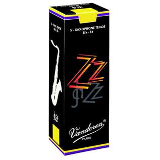 Vandoren ZZ Tenor Saxophone Reeds Strength 2.5 Box of 5