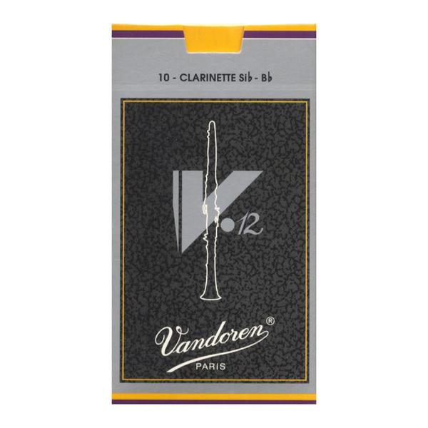 Vandoren V12 Bb Clarinet Reed, Strength 3.5 (10 Pack)