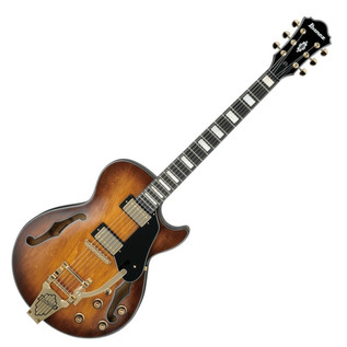 Ibanez Artcore AGS73T-TBC Hollowbody Guitar, Tobacco Brown