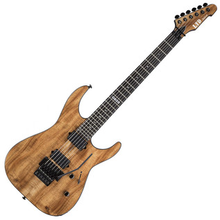 ESP LTD M-1000 Deluxe Koa Wood Top, Natural