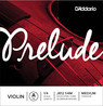 D'Addario Prelude Violin A String 1/4 Scale, Medium Tension