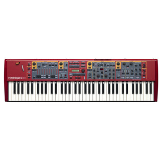 Nord Stage 2 EX Compact 73 Semi Weighted Keyboard with ABS Hardcase