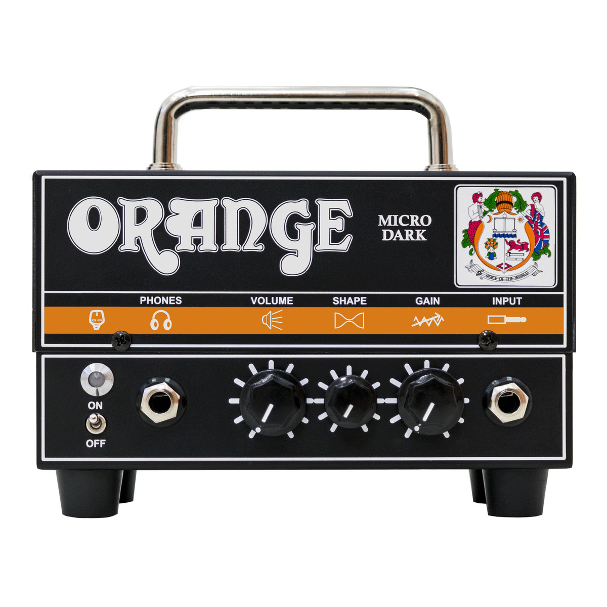 Click to view product details and reviews for Orange Micro Dark Valve Hybrid Guitar Amp Head.