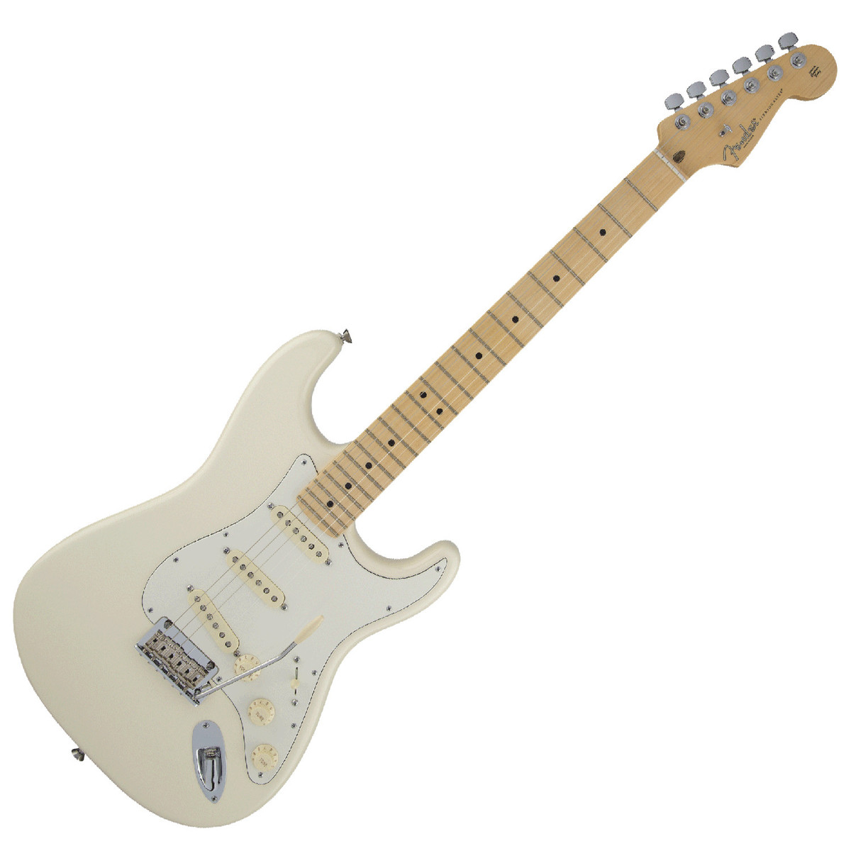 fender american standard stratocaster mn olympic white at gear4music. Black Bedroom Furniture Sets. Home Design Ideas