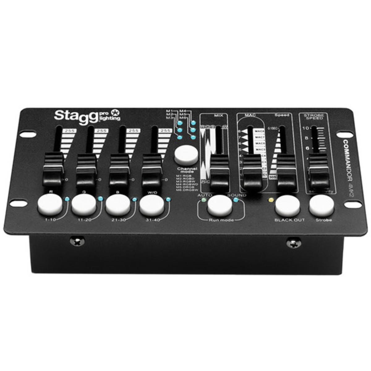 Stagg mandor 4mk2 3 DMX Light Controller for LED Lights at
