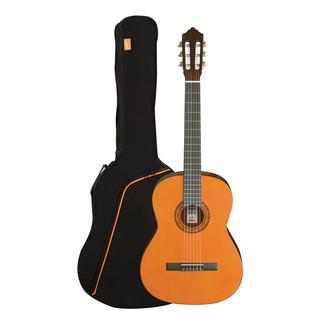 Ashton SPCG34L Left Handed 3/4 Size Classical Guitar Pack, Amber