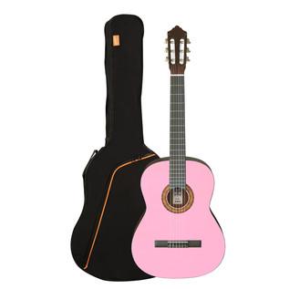 Ashton SPCG34 3/4 Size Classical Guitar Starter Pack, Pink