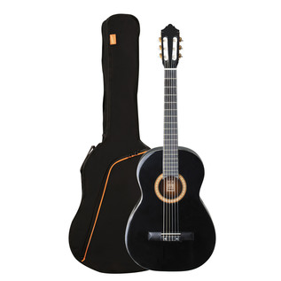 Ashton SPCG34 3/4 Size Classical Guitar Starter Pack, Black